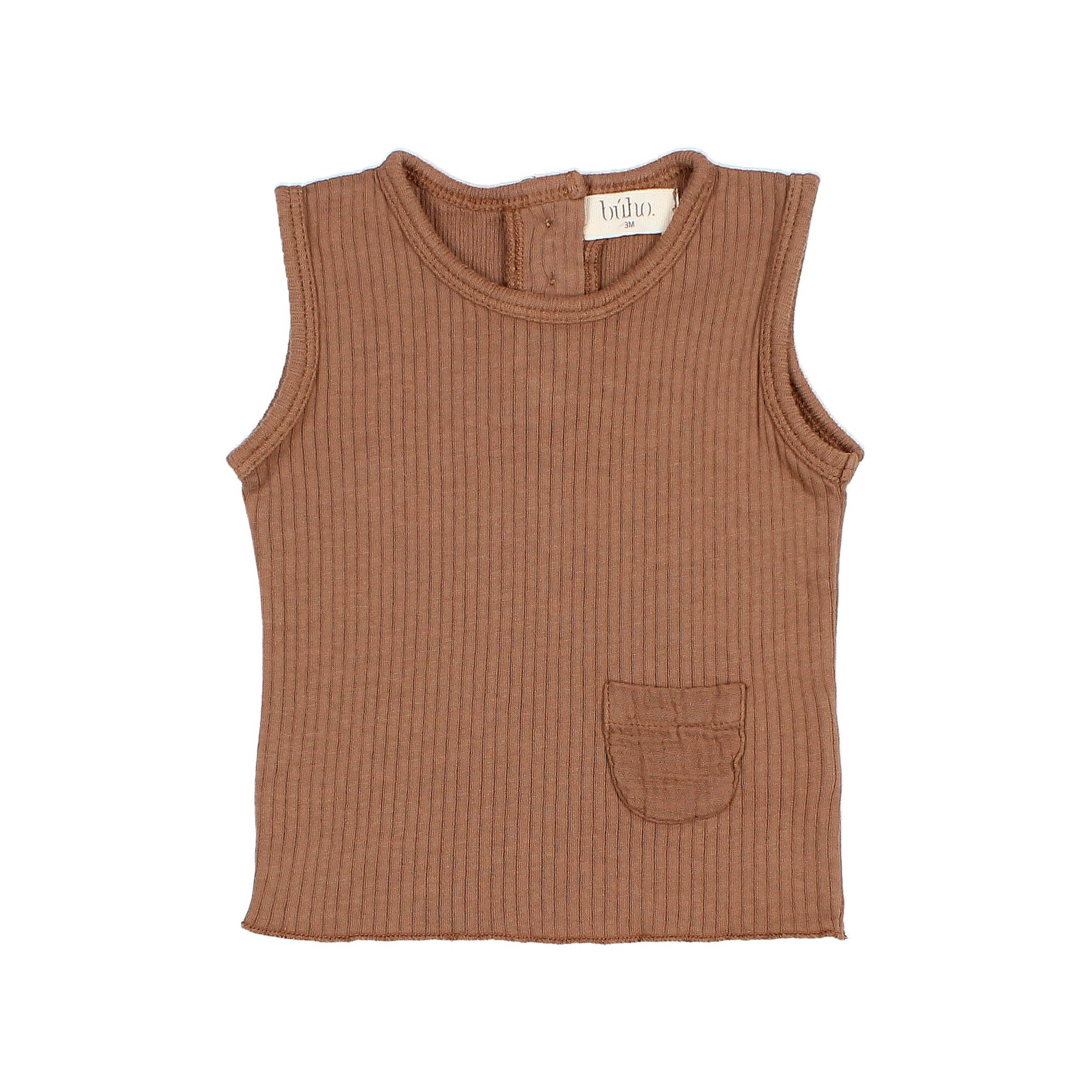 Sidney Tank Top - Cocoa